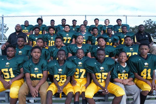 PAMS Football Team Goes Undefeated