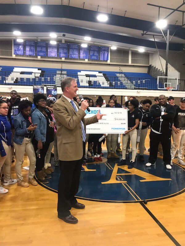 PAHS Wins $10K for PowerAde Power Your School Video Competition!