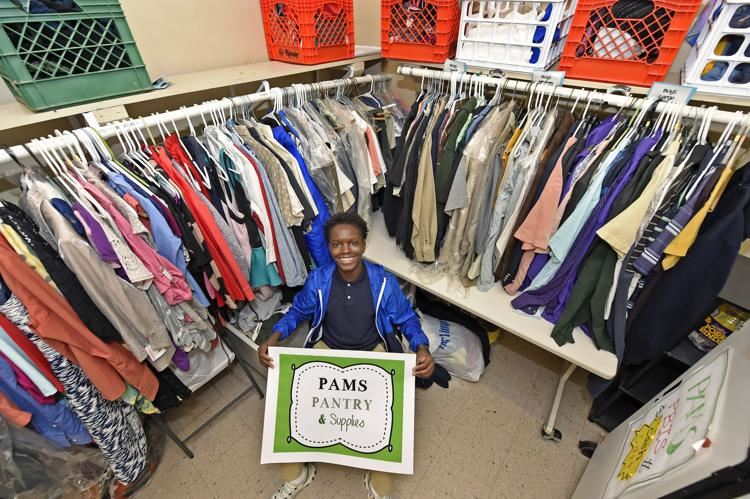 Port Allen middle schooler combats bullying by running clothing pantry to help students in need