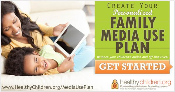 Family Media Plan and Media Time Calculator